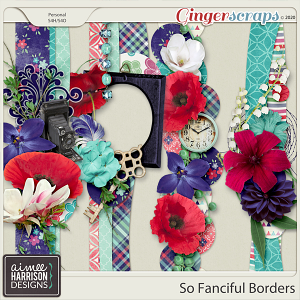 So Fanciful Borders by Aimee Harrison