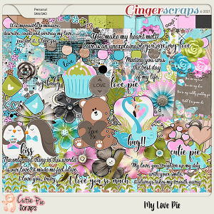 My Love Pie Page Kit