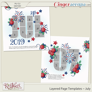 Layered Page Templates ~ July