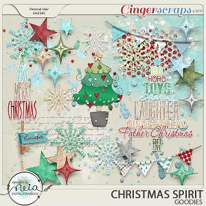 Christmas Spirit - Goodies - by Neia Scraps