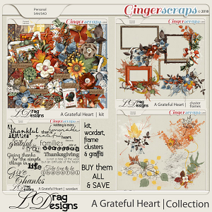 A Grateful Heart: The Collection by LDragDesigns