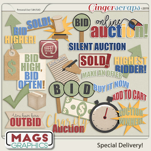 Special Delivery AUCTION PACK by MagsGraphics