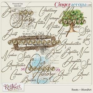 Roots WordArt
