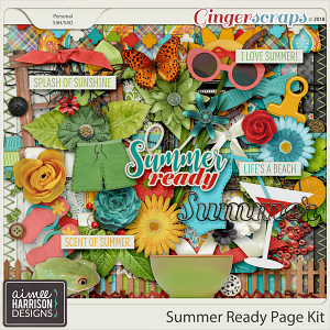 Summer Ready Page Kit by Aimee Harrison