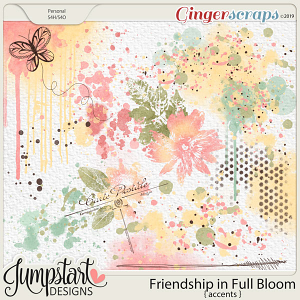 Friendship In Full Bloom {Accents} by Jumpstart Designs