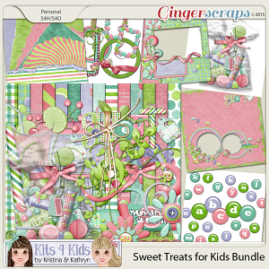 Sweet Treats Bundle by K4K