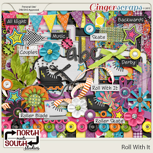Roll With It Collab Kit by North Meets South Studios