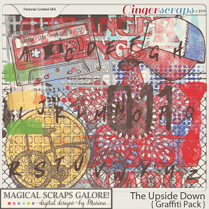 The Upside Down (graffiti pack)