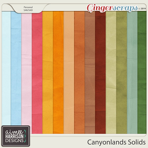 Canyonlands Solid Papers by Aimee Harrison