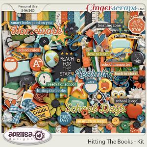 Hitting The Books - Kit by Aprilisa Designs