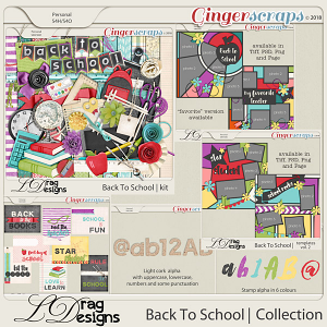BackTo School: The Collection by LDrag Designs
