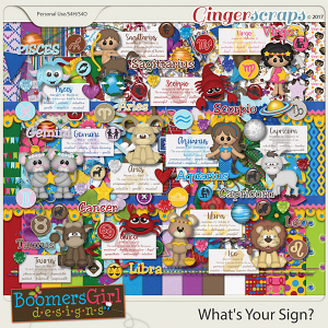What's Your Sign? by BoomersGirl Designs