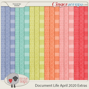 Document Life April 2020 Extra Papers by Luv Ewe Designs