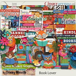 Book Lover by Clever Monkey Graphics
