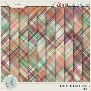 Fade To Nothing Plaids by Ilonka's Designs