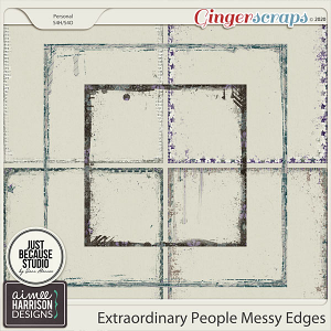 Extraordinary People Messy Edges by Aimee Harrison and JB Studio