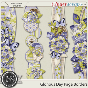 Glorious Day Page Borders