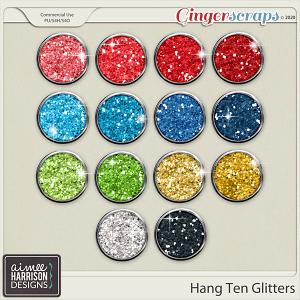 Hang Ten Glitters by Aimee Harrison