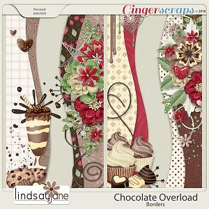 Chocolate Overload Borders by Lindsay Jane