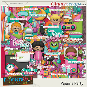Pajama Party by BoomersGirl Designs