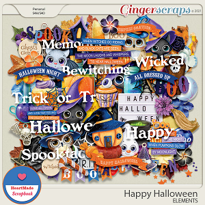 Happy Halloween - elements