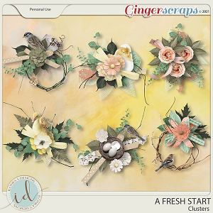 A Fresh Start Clusters by Ilonka's Designs