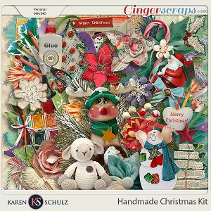 Handmade Christmas Kit by Karen Schulz