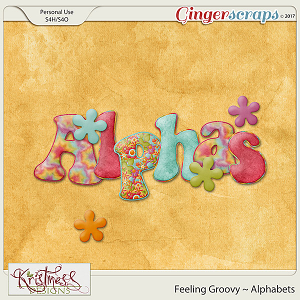 Feeling Groovy Alphabets