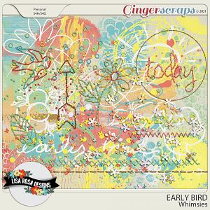 Early Bird - Whimsies by Lisa Rosa Designs