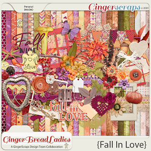 GingerBread Ladies Collab: Fall In Love