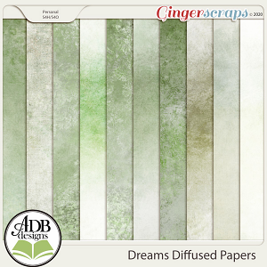 Dreams Diffused Papers by ADB Designs