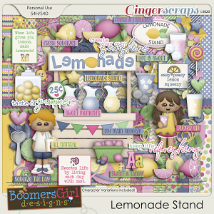 Lemonade Stand by BoomersGirl Designs