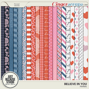 Believe In You Papers by JB Studio