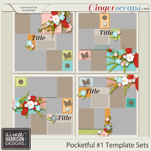 Pocketful #1 Templates by Aimee Harrison