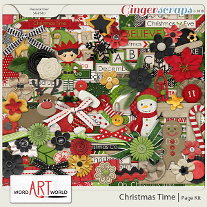 Christmas Time Page Kit