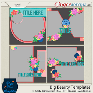Big Beauty Templates by Miss Fish