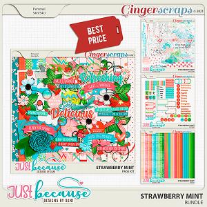 Strawberry Mint Bundle by JB Studio