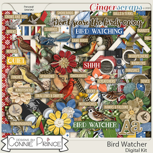 Bird Watcher - Kit by Connie Prince