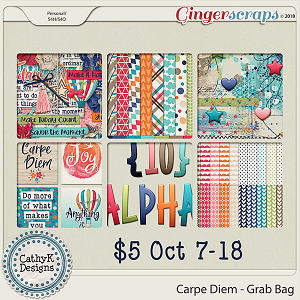 Carpe Diem - Grab Bag by CathyK Designs