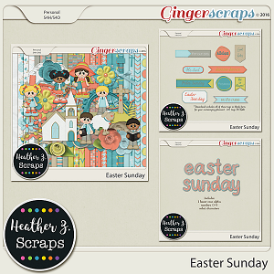 Easter Sunday BUNDLE by Heather Z Scraps