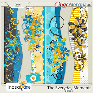 The Everyday Moments Borders by Lindsay Jane