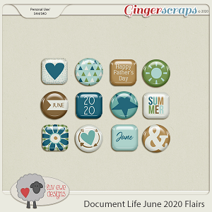 Document Life June 2020 Flairs by Luv Ewe Designs