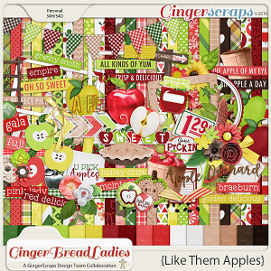 GingerBread Ladies Collab: Like Them Apples