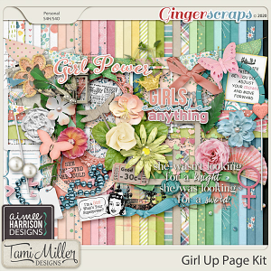 Girl Up Page Kit by Aimee Harrison and Tami Miller