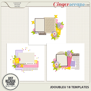JDoubleU 18 Templates by JB Studio