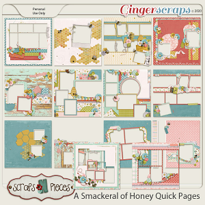 A Smackerel of Honey Quick Pages - Scraps N Pieces