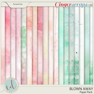 Blown Away Paper Pack by Ilonka's Designs