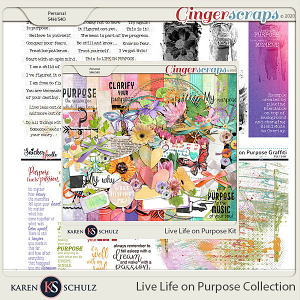 Live Life on Purpose Collection by Karen Schulz