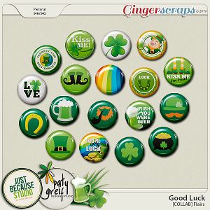 Good Luck Collab Flairs by JB Studio and Paty Greif