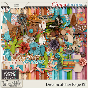Dreamcatcher Page Kit by Aimee Harrison and Tami Miller